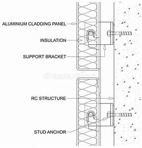 Insulated Cladding Panels Stock Vector  Illustration Of