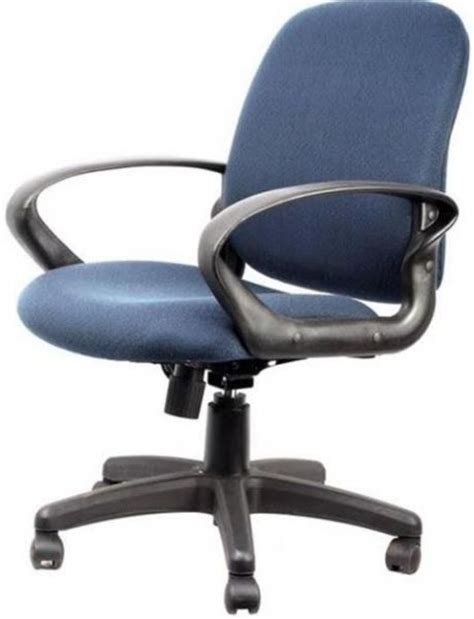 innovex c0035f33 office desk chair navy blue fabric
