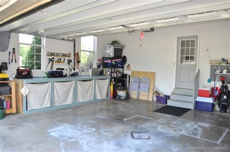 inexpensive tips  organize  garage