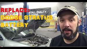 Replace Battery - Dodge Stratus