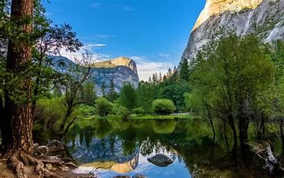 Yosemite Mirror Lake California Park National Daily