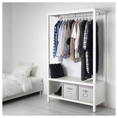 Ikea Offene Kleiderschränke by Hemnes Kleiderschrank Offen Wei 223 Las In 2019 Mein Look