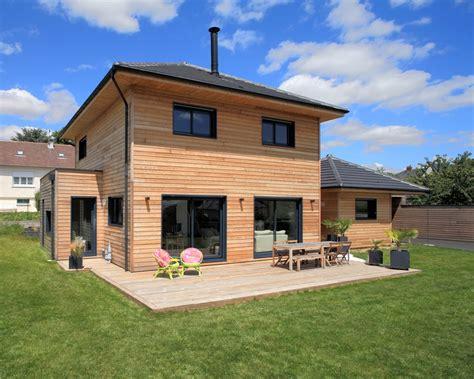 Une Maison En Bois Résolument Moderne