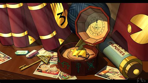 Gravity Fall : Gravity Falls Left(y) An Impression