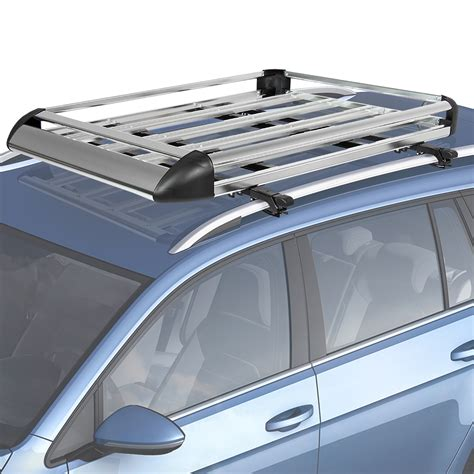 car roof racks 50 quot x38 quot aluminum car roof cargo carrier luggage rack top