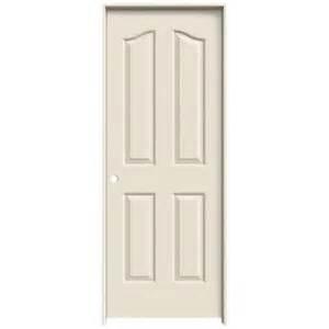 interior door prices home depot jeld wen 32 in x 80 in molded textured 4 panel eyebrow primed white hollow composite