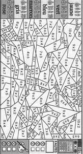 coloriage magique les tables de multiplication projets 224 essayer tables