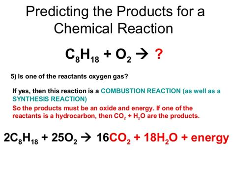 04 Types Of Chemical Reactions