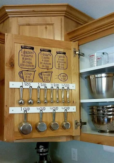 organizing kitchen cabinets ideas best 25 measuring cup storage ideas on kitchen cabinet doors only farmhouse