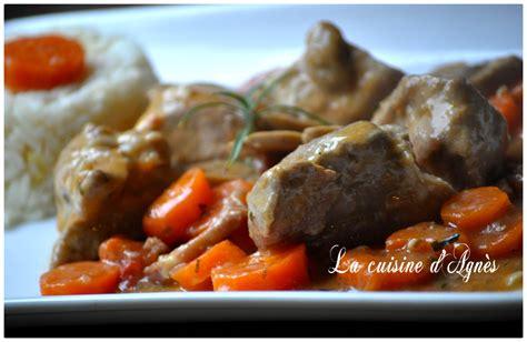 carotte cuisine sauté de porc aux carottes des sables la cuisine d