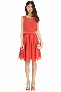 wedding guest oranges penelope dress coast stores With romantic dresses for wedding guests
