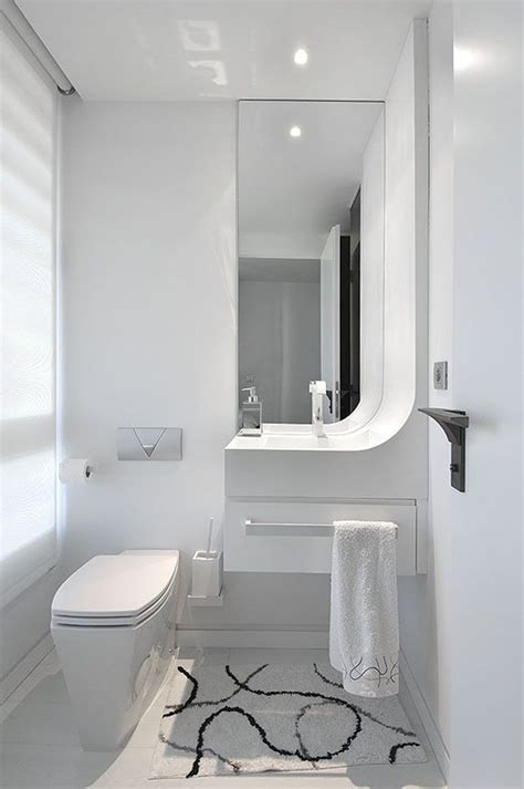 Small Modern Bathroom Design by Modern White Bathroom Design From Tradewinds Imports