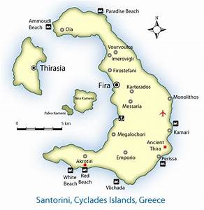 From There to Here: Santorini Island