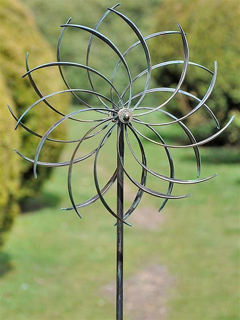 garden windmill copper garden design ideas