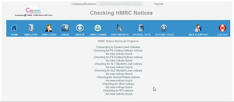 There are a few reasons why it could legitimately not be 1250l. Retrieving HMRC Tax Code Notices - Caseron Cloud Accounting