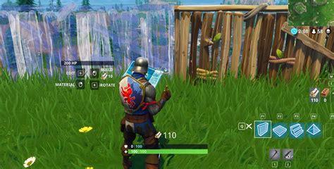 fortnite battle royale controls  faster building