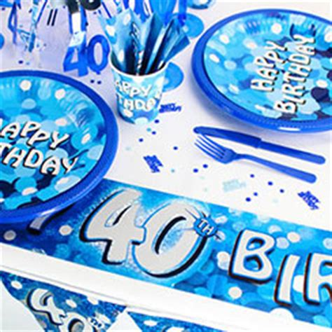 40th birthday party themes ideas party delights