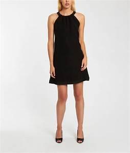 robes de mode robe fluide noire etam With robe etam noire