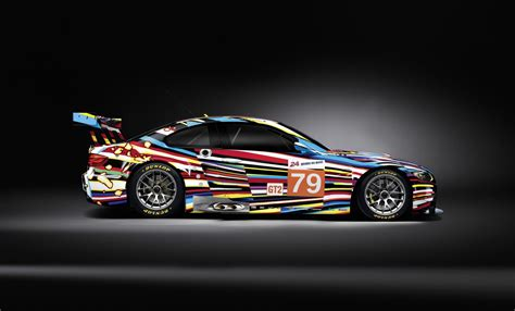 The 17th Bmw Art Car Will Race At 24 Hours Of Le Mans