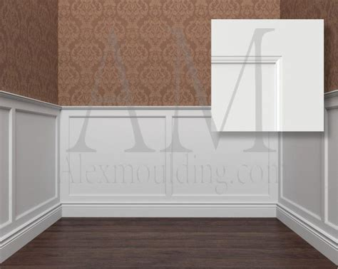 Flat Panel Wainscoting by Modern Wainscoting Panels Idea Types Wainscot Kits Faux