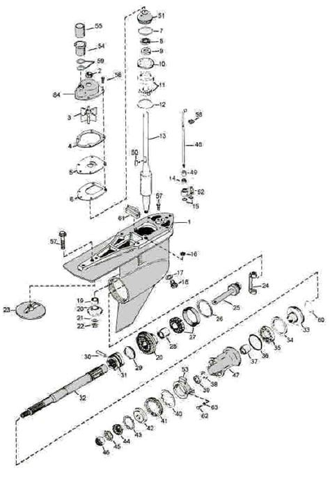 Mercruiser Lower Unit Diagram by Alpha 1 2 Exploded View Diagram 26 50