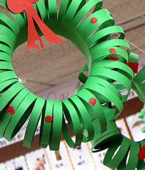 construction paper christmas crafts craft for construction paper wreath