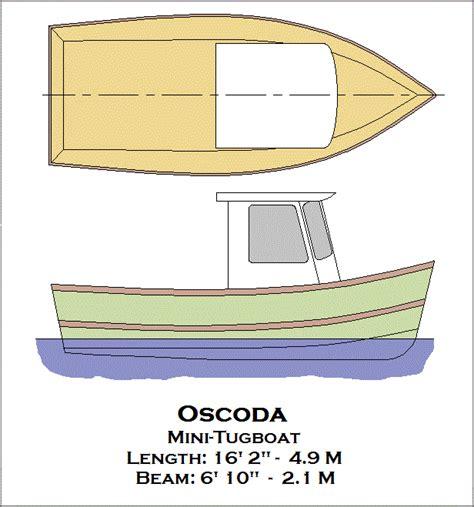 mini tugboat plans   diy   blueprint uk  ca australia netherlands