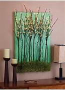 Diy Wall Canvas Ideas by DIY Canvas With Light Up Branches