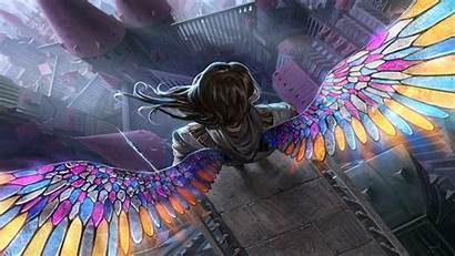 Fantasy Magic Gathering Angel Wallpapers Anioły Backgrounds