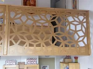 Claustra Decoratif Interieur : claustra bois herm s ~ Teatrodelosmanantiales.com Idées de Décoration
