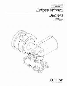 Eclipse Winnox Wx Series Installation Guide
