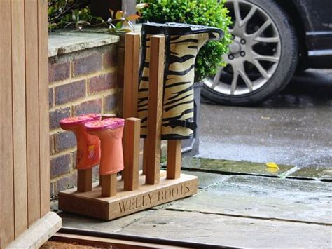 diy wooden boot rack boot organizer diy