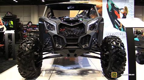 2017 Can Am Maverick X3 X ds Turbo R 900 Side by Side ATV