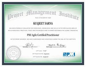 pmi acp certificate With pmp certification documents