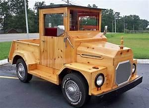 Woodwork Wooden Truck PDF Plans