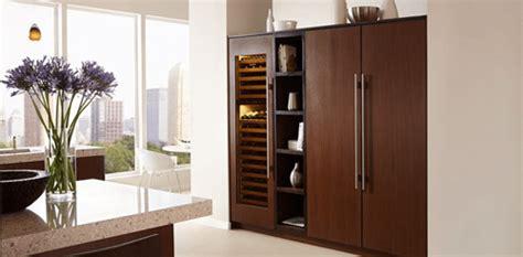 integrated counter depth refrigerators