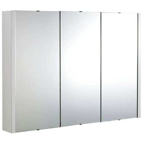 premier eden high gloss white mm  door mirror cabinet