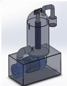 Final Design Garlic Peeler Machine
