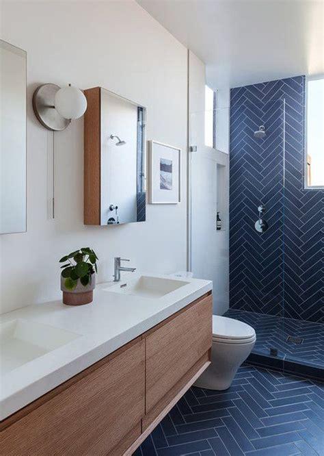Modern Bathroom Blue by 97 Cool Blue Bathroom Design Ideas Digsdigs