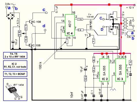 Secret Diagram More Circuit For Inverter