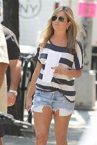 Jennifer Aniston Jean Shorts