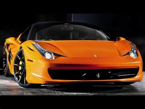 satin orange ferrari  italia  lexani forged sport