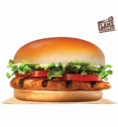 Chicken Burger King Grilled Sandwich Flame Difference