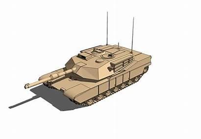 Drawing 3d Battle Tanks Abrams Factory Conceptual