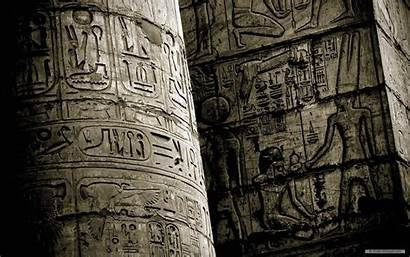 Egypt Ancient Wallpapers Temple Karnak Carvings