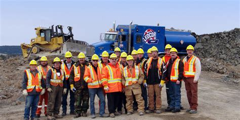 contract mining mining construction operations contractor ledcor