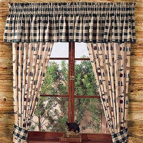window treatment ideas  log homes