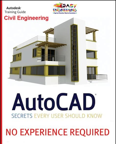 autocad civil engineering book complete guide
