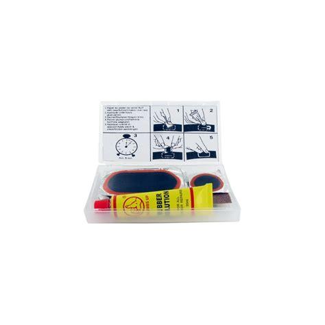 colle chambre à air kit réparation chambre à air shak avec 5 rustines diamètre
