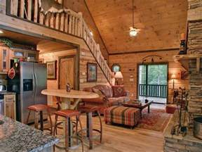 Small Log Home Interiors Cabins And Vacation Rentals Ocoee Accommodations Raft One